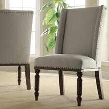 View Product - Belmeade - Hostess Chair - Old World Oak Finish