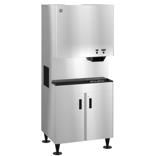 DCM-752BAH-OS, Cubelet Icemaker, Air-cooled, Hands Free Dispenser, Built in Storage Bin