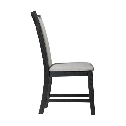Product Image - Grady Dining Slat Back Side Chair Black (2 Per Pack)
