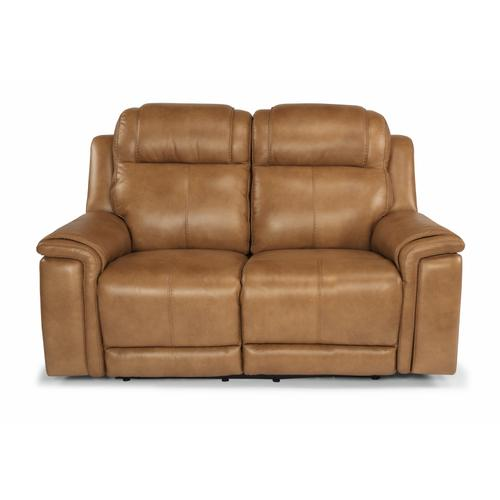 - Kingsley Power Reclining Loveseat with Power Headrests and Lumbar