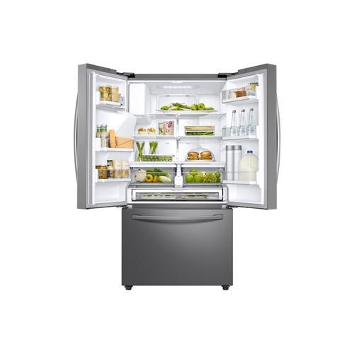 (Open Box) 23 cu. ft. 3-Door French Door, Counter Depth Refrigerator with CoolSelect Pantry™ in Stainless Steel