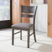 Slat Back Upholstered Side Chair Product Image
