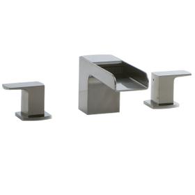 Kascade 3-Hole Deck Mount Tub Filler Brushed Nickel