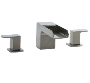 Kascade 3-Hole Deck Mount Tub Filler Brushed Nickel Product Image