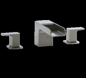 Kascade 3-Hole Deck Mount Tub Filler Brushed Nickel Product Image