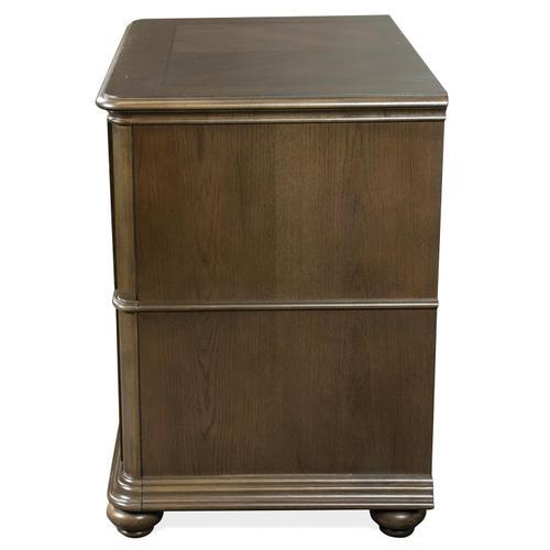 Riverside - Belmeade - Lateral File Cabinet - Old World Oak Finish