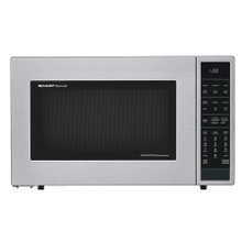See Details - Carousel Countertop Convection + Microwave Oven 1.5 cu. ft. 900W Stainless Steel