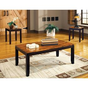 Abaco 3 Pack Set (Pack Includes Cocktail & 2 End Tables)
