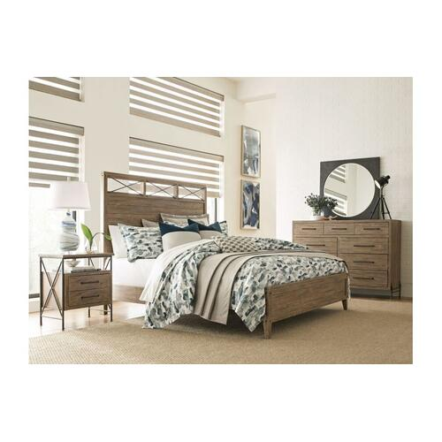 Kincaid Furniture - Jackson Queen Panel Bed - Complete