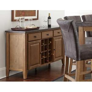 Debby Bluestone Wine Rack/Server