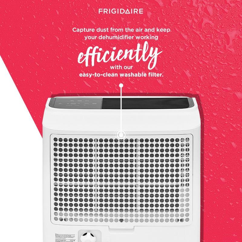 Frigidaire High Humidity 60 Pint Capacity Dehumidifier
