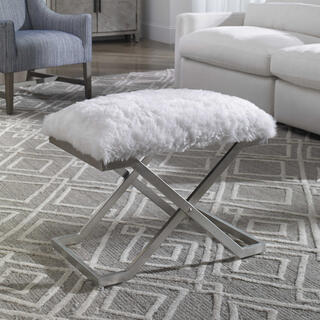 See Details - Farran Silver Small Bench
