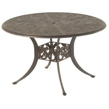 """See Details - Chateau 48"""" Round Solid Top Table in Desert Bronze"""