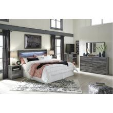 Baystorm Queen Lighted Panel Bed