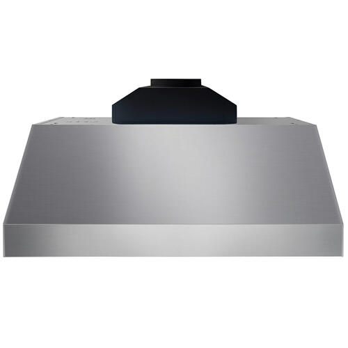 Product Image - 36 Inch Professional Range Hood, 16.5 Inches Tall In Stainless Steel