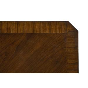 """Gallery - Avion Dining Table with 18"""" Leaf, Cherry Brown"""
