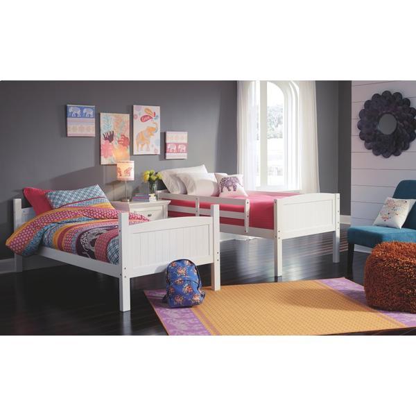 Kaslyn Twin Over Twin Bunk Bed