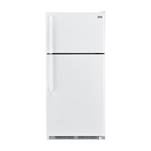 Haier - Haier 18.1-Cu.-Ft. Top Mount Refrigerator - white