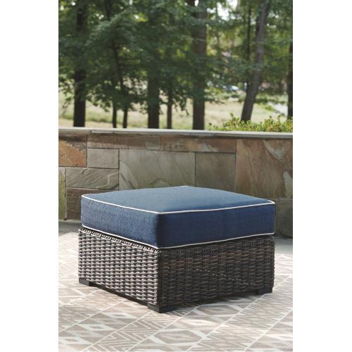 Ashley - Outdoor Sofa, Loveseat and Ottoman