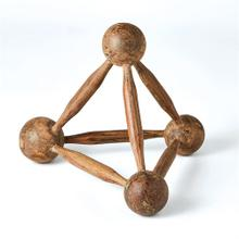 Rollerpin/Wooden Ball Pyramid