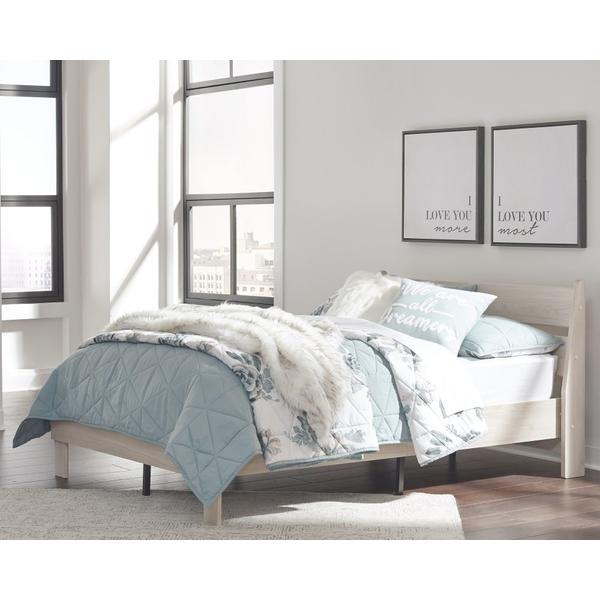 Socalle Full Panel Platform Bed