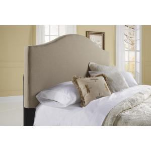 Saddle Back Upholstered Headboard Queen