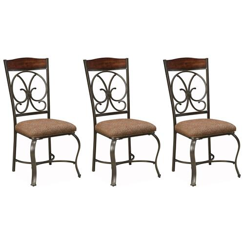 Glambrey Dining Room Chairs (set of 3)