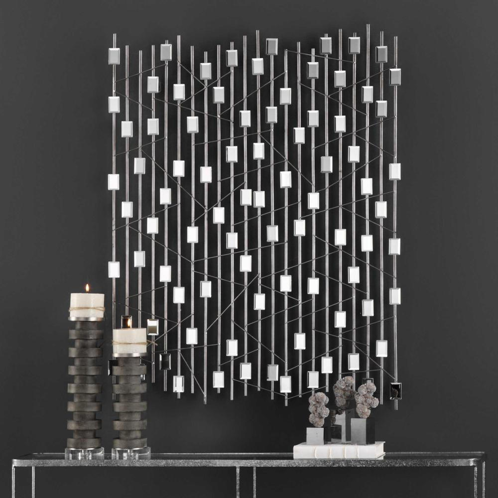 See Details - Iker Mirrored Wall Decor