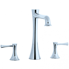 Brookhaven - 3pc Roman Tub Filler Trim - Polished Chrome