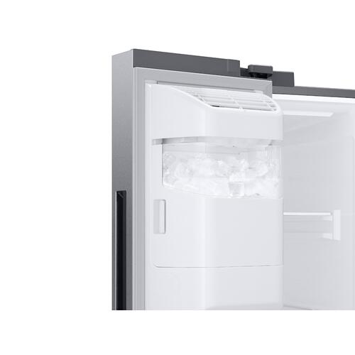 27.4 cu. ft. Smart Side-by-Side Refrigerator with Large Capacity in Stainless Steel