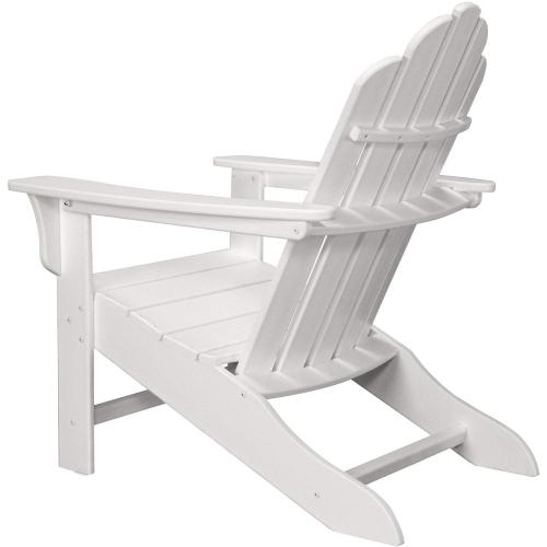 Hanover All-Weather Contoured Adirondack Chair - White, HVLNA10WH