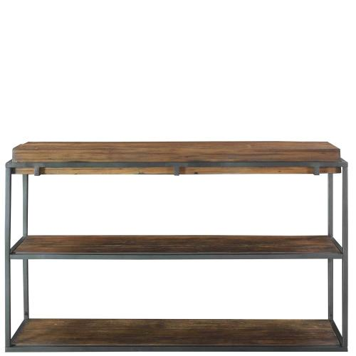 Maverick - Sofa Table - Rustic Saal Finish