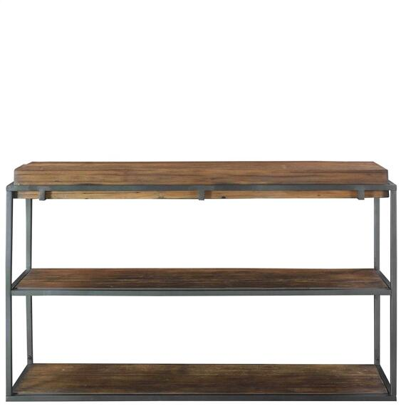 Riverside - Maverick - Sofa Table - Rustic Saal Finish