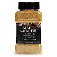 Louisiana Grills 15.0 oz Maple Walnut Rub