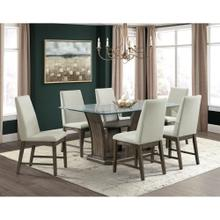 Dapper Rectangular Dining Set - Table and 6 Chairs