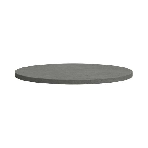 Distressed Grey Concrete Round Dining Table 1300