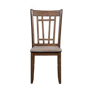Lattice Back Side Chair