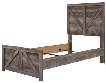 Wynnlow Twin Crossbuck Panel Headboard/footboard