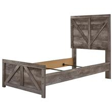 Wynnlow Twin Crossbuck Panel Headboard/footboard