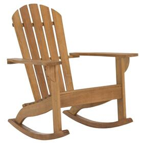 Brizio Adirondack Rocking Chair - Natural