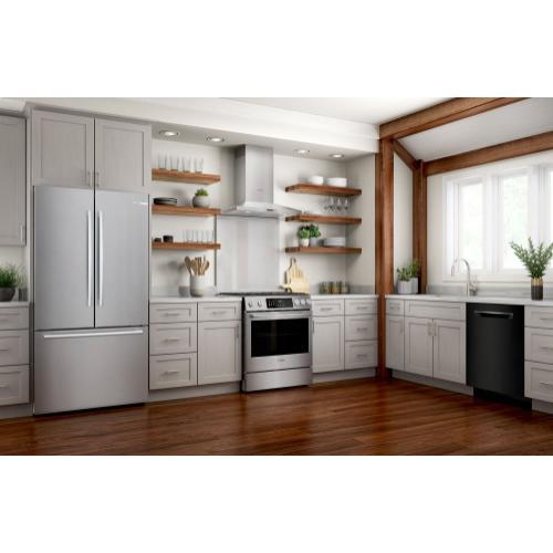 800 Series Dishwasher 24'' Black SHPM78Z56N