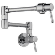 See Details - Euro Wall Mount Pot Filler Faucet