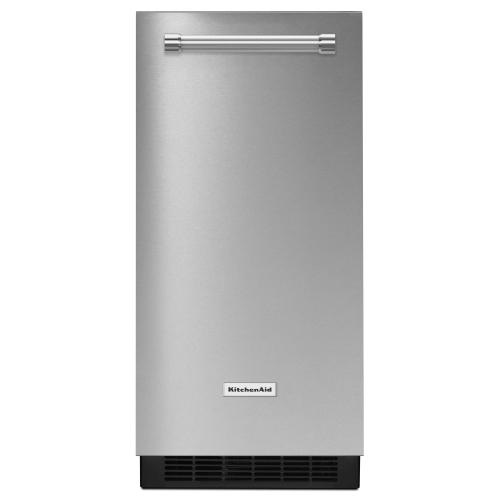Gallery - 15'' Automatic Ice Maker - Stainless Steel