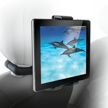 See Details - Universal Vehicle Mount System for Tablets with Bluetooth Headphones