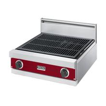 """See Details - Apple Red 24"""" Gas Char-Grill - VGQT (24"""" wide char-grill)"""