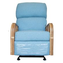 Swivel Recliner Glider, Recliner Arms Available in Natural Finish Only.