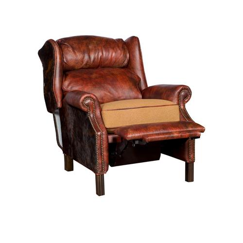 Product Image - George Leather Fabric Recliner