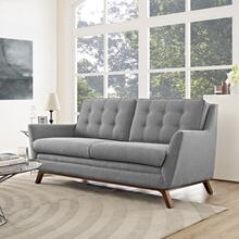See Details - Beguile Upholstered Fabric Loveseat in Expectation Gray