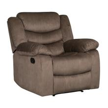 Ridgecrest Manual Motion Recliner, Dark Brown