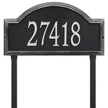 Providence Arch - Estate Lawn - One Line - Black/Silver